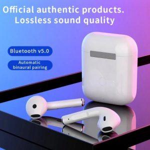 Oordop - Wireless Earphones - Draadloos - Draadloze Oordopjes - Draadloze Oortjes - Bluetooth Oordopjes - Oor - Earpods - Bluetooth Oortjes - Wit