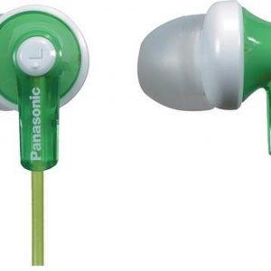 Panasonic RP-HJE120E1 Hoofdtelefoons In-ear Groen