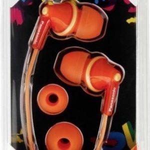 Panasonic RP-HJE125E-D Oranje Intraauraal In-ear oordopjes