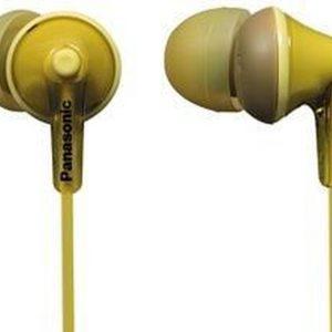 Panasonic RP-HJE125E - In-ear oordopjes - Geel