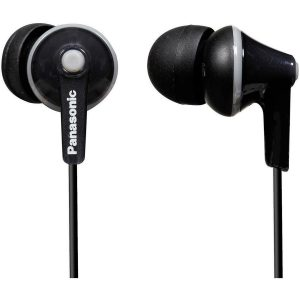 Panasonic RP HJE125E-K - Ergofit - headphones - in-ear - black