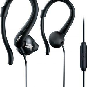 Philips SHQ1255TBK - In-ear oordopjes sport - Zwart