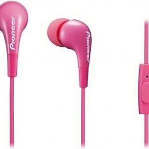 Pioneer SE-CL502T-P hoofdtelefoon/headset In-ear Roze