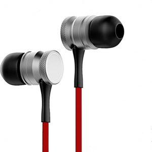 QY Z-97 Bluetooth In-ear - Draadloze Koptelefoon - Rood/Zwart