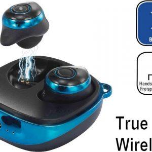 Renkforce RF-BTK-200 Bluetooth Koptelefoon Blauw-zwart