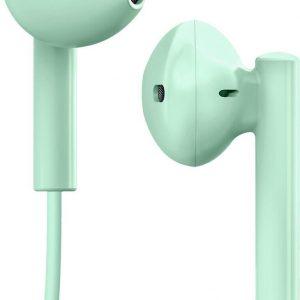 SBS Stereo earset Lightning connector groen