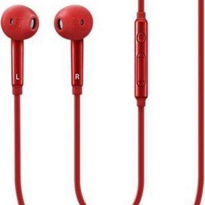 Samsung In-ear oordopjes - Rood - voor Samsung Galaxy S6, S6 Edge, S7, S7 Edge etc.