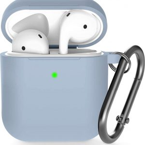 Shieldcase Apple Airpods silicone case - licht paars