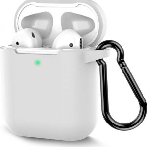 Shieldcase Apple Airpods silicone case - wit