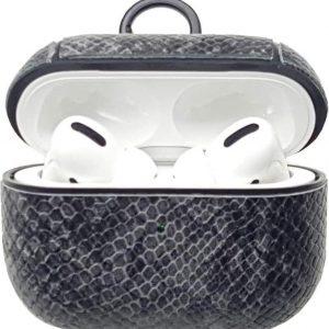 Shieldcase Guilty Grey Snake Print Apple Airpods Pro case - donkergrijs