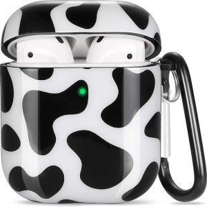Shieldcase Holy Cow Apple Airpods case - zwart/wit