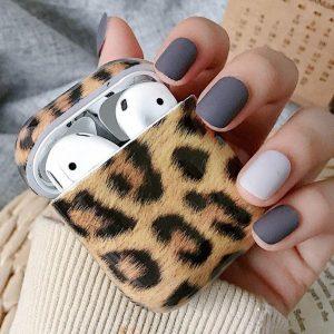Shieldcase Leopard Pattern Airpods Case - bruin