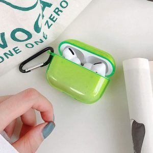 Shieldcase Neon Vibes Apple Airpods Pro case - neon geel