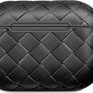 Shieldcase Woven Pattern Airpods Pro Case - zwart