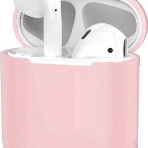 Siliconen Hoes voor Apple AirPods 2 Case Ultra Dun Hoes - Licht Roze