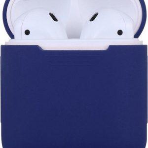 Siliconen case | geschikt voor airpods |donker blauw