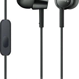 Sony MDR-EX155AP - In-ear oordopjes - Zwart