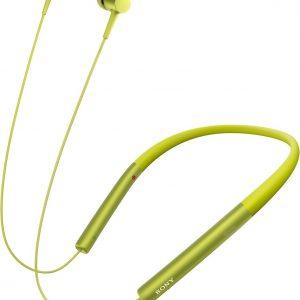 Sony h.ear MDR-EX750BT - Draadloze Hi-Res audio in-ear oordopjes- Geel