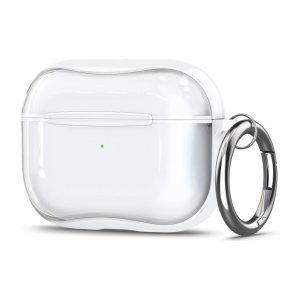 Spigen AirPods Pro Kunststof hoesje Transparant/Wit