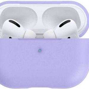 Spigen Siliconen AirPods Pro hoesje - Airpods Pro Case - Lavendel