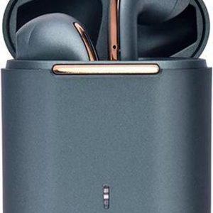 TWS J18 - Draadloos oordopjes 2021 - Bluetooth headsets - Draadloze oordopjes - Oortjes - Bluetooth Oordopjes - Donker Groen