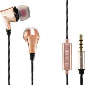 Thomson EAR3207CO koptelefoon, in-ear, microfoon, koper