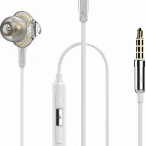 UiiSii DT800 Wit - Hi-Res in-ear oortjes van professionele studio kwaliteit - Dual Balance