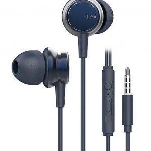 UiiSii HM9 Blauw - Metalen In-Ear Oortjes - Mooi Design