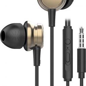 UiiSii HM9 Goud - Metalen In-Ear Oortjes - Mooi Design