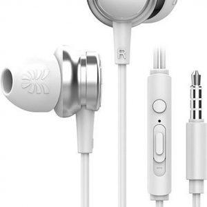 UiiSii HM9 Wit - Metalen In-Ear Oortjes - Mooi Design