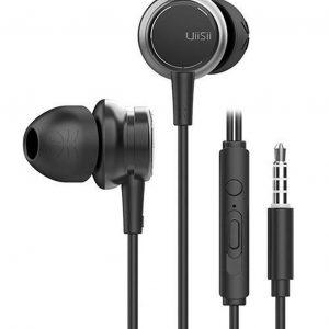 UiiSii HM9 Zwart - Metalen In-Ear Oortjes - Mooi Design
