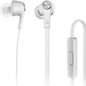 Xiaomi Koptelefoon Premium Headphones Piston In-Ear Oordopjes Wire Control + MIC White