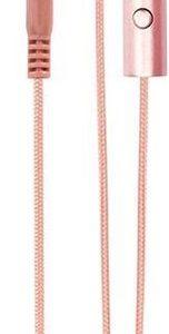 Xqisit oortjes headset push-to-talk rosé goud iE20 - Rosegold