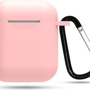 YPCd® Apple AirPods Hoesje - Roze - Soft case