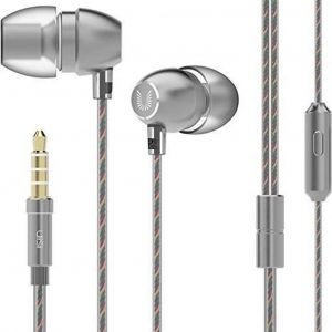 in-ear oortjes - 1.2 meter met microfoon en controller - 3.5mm - UiiSii HM7