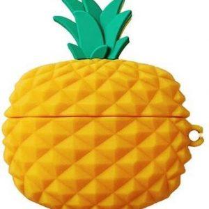 Airpods Pro Hoesje - Airpods Pro Case - Japanse Cartoon Kawaii Stijl Cute - Ananas - Cadeau - Cadeautjes