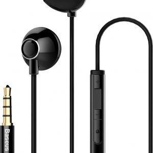 Baseus NGH06-01 hoofdtelefoon/headset In-ear Zwart