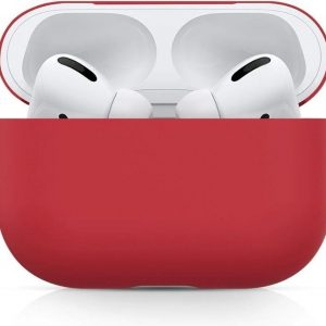 Bee's - Airpods Pro Hoesje Siliconen Case - Rood - Soft Case - Airpods Pro Case - Airpods Pro