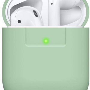 DW4Trading® Siliconen case Apple AirPods 1 en 2 licht groen