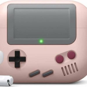 Game Console Case Cover Voor Airpods Pro - Roze | Watchbands-shop.nl