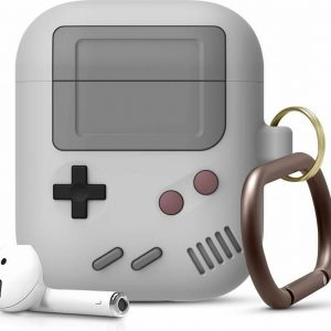 Game Console Case Cover Voor Airpods - Siliconen Grijs | Watchbands-shop.nl