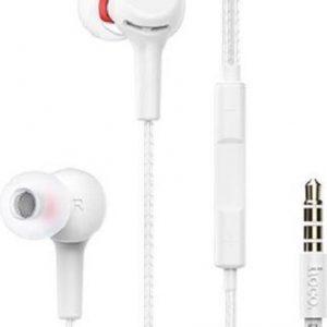 HOCO M78 El Placer - In Ear Oordopjes - Oortjes met draad en microfoon - 3,5mm Jack aansluiting - 120cm kabel - Wit
