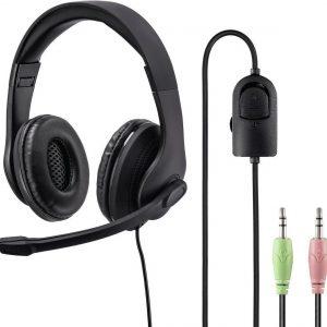 "Hama PC-Office-headset ""HS-P200"", stereo, zwart"