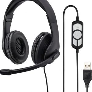 "Hama PC-Office-headset ""HS-USB300"", stereo, zwart"