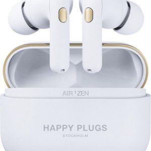 Happy Plugs Air 1 Zen - In-ear koptelefoon - Wit