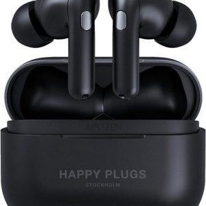 Happy Plugs Air 1 Zen - In-ear koptelefoon - Zwart