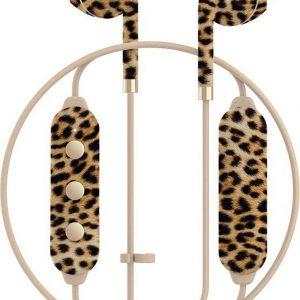 Happy Plugs Wireless II Draadloos In-Ear Koptelefoon - Leopard