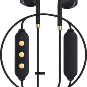 Happy Plugs Wireless II Draadloos In-Ear Koptelefoon - Zwart/Goud
