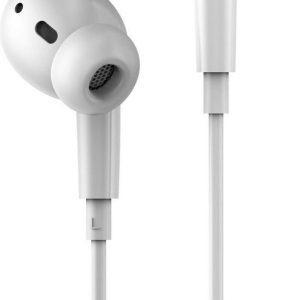 Hoco - In Ear Oordopjes - Oortjes met draad en microfoon - Wit