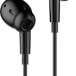 Hoco - In Ear Oordopjes - Oortjes met draad en microfoon - Zwart
